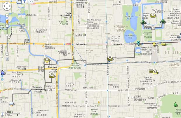 bj-bike route