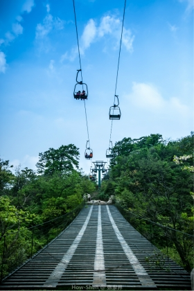 tianmen chairlift